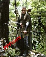 ORLANDO BLOOM LORD OF THE RINGS LEGOLAS SIGNED AUTOGRAPHED 10X8 REPRO PRINT