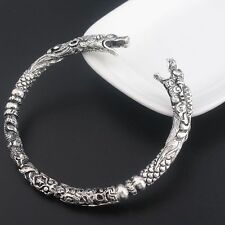 Viking Wolf Bracelet Two Headed Wolf Men Bangles Wristband Fashion Jewelry