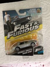 Fast and Furious Chevrolet Corvette Grand Sport die cast model car