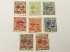 old stamps  PORTO RICO   x  8  optd