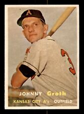 JOHNNY GROTH 57 TOPPS 1957 NO 360 EXMINT+ 21406
