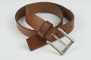 LEVI'S 11LV02Y9 AIG Men's MEDIUM 34-36 Genuine Leather Brown Belt 24408-JS