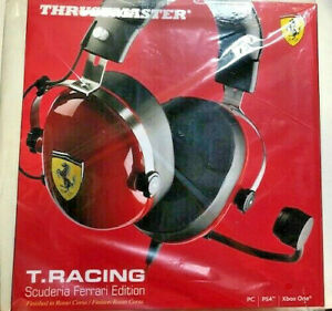 Thrustmaster T.Racing Scuderia Ferrari Edition Headset PC PS4 XBOX ONE