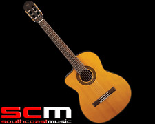 RRP$799 Takamine GC5CE NATLH Classical Acoustic Electric Left Handed W/ Cutaway