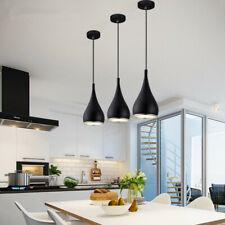 3X Kitchen Chandelier Lighting Black Pendant Light Bar Lamp Home Ceiling Lights