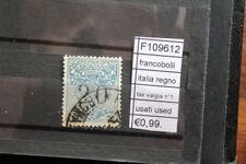 FRANCOBOLLI ITALIA REGNO TAX VAGLIA N°1 USATI STAMPS ITALY USED (F109612)