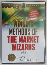 WINNING METHODS OF THE MARKET WIZARDS WITH JACK SCHWAGER * Stock Trading DVD *