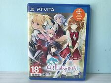 PS Vita Omega Labyrinth (Asian Japanese) BRAND NEW AND SEALED | ASIA VERSION