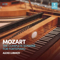 Wolfgang Amadeus Mozart : Mozart: The Complete Sonatas for Fortepiano CD Box