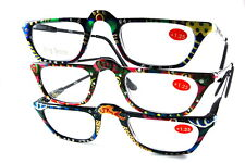 UV 0553 Lady Reading Glass Color Frame +125 3 for 1 price