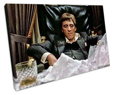SCARFACE CANVAS Wall Art Picture grandi 75 x 50 cm
