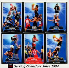 2012 Select AFL Champions The Screamers 3-D card Full Set (12)-RARE