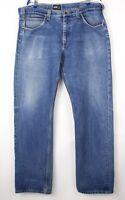 Lee Hommes Kent Slim Jeans Jambe Droite Taille W38 L36 AVZ1490