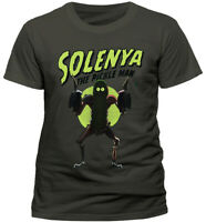 Official Rick and Morty Solenya T-shirt The Pickle Man Large
