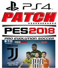 PARCHE ORIGINAL PS4 - PES 18 - PATCH OPTION FILE - PES 2018