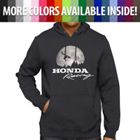 Honda Motocross Freestyle ET Flying Scene Men Women Pullover Hoodie Sweater S~3X