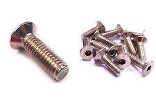 M6 en acier inoxydable comptoir coulé vis/boulon 25mm idéal pour utilisation sur un spoiler