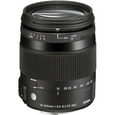 Sigma 18-200mm F3.5-6.3 DC Macro OS HSM Lens For Canon 885954, London