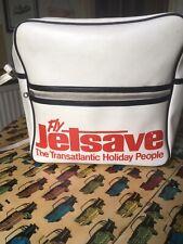 More details for jetsave flight bag retro 1970s man bag handbag