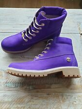 Women's Timberland  Boots Purple Size 5 Uk Unique