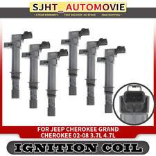 6x Ignition Coils fit Jeep Cherokee KJ Grand Cherokee WJ WK Commander XK Nitro