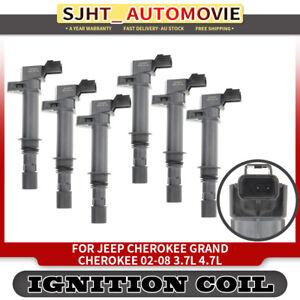 6x Ignition Coils for Jeep Cherokee KJ Grand Cherokee WJ WK Commander XK Nitro