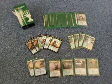 MTG Guilds of Ravnica Guild Kit - Selesnya G/W w/ Green Dragon Shield Sleeves