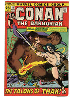 CONAN THE BARBARIAN #11 (Marvel Comics 1971) BARRY WINDSOR-SMITH art (FN/VF)