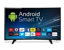 """Cello 40"""" Curved Android Smart LED TV with Wi-Fi and Freeview T2 HD"""