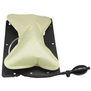 Embedded Car Seat Air Pressure Lumbar Support Cushion Airbag Pillow W/Hand Pump