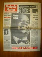 MELODY MAKER 1968 JUN 15 ROLLING STONES LOUIS ARMSTRONG