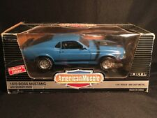 1970 MUSTANG BOSS 302 GRABBER BLUE, LIMITED EDITION  ERTL 1/18 AMERICAN MUSCLE