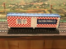 HO Train Ralston Purina Co. Box Car -  Estate 1807