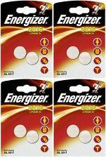 4x Energizer CR2016-C2 Litihium 3V Coin Cell CR2016 Batteries (8 Batteries)