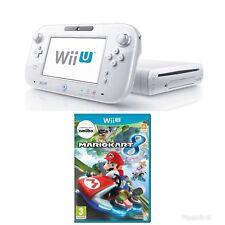 Nintendo Wii U - White Console + Mario Kart Wii U Bundle - PRISTINE - FAST POST!