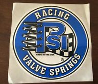 PSI Racing Valve Springs Decal-Sticker-NHRA-NASCAR-Street Outlaws-Drag Racing