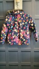 Girls Next Coat With Hood Age 9-10 Hearts