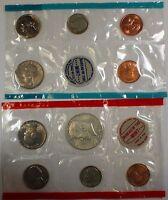 1969 P&D United States Mint Set, No Envelope