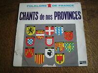 33 tours folklore de france chants de nos provinces