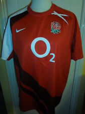 "2007-2009 England Rugby Union AWAY SHIRT ADULTO XL 45/47 "" (16359)"