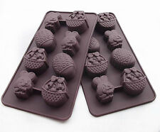 Cake Mold, Soap Mold Rabbit Easter Egg Mold Silicone Mould For Ice lattice