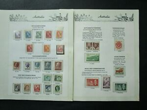 ESTATE: Australia Collection on Hagners, Great Item! (p5937)