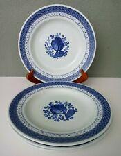 Royal Copenhagen - Tranquebar (Blue) - Dinner Plates - Set Of 4 - Denmark