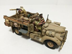 KING AND COUNTRY LONG RANGE DESERT GROUP 30CWT CHEVROLET TRUCK EA023 MILITARY