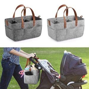 Baby Diaper Caddy Organizer Portable Holder Shower Basket Portable Nursery  X1Q3