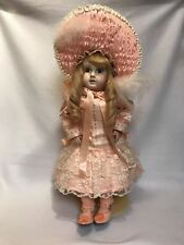 """Vintage Large Steiner A 18 SGDG French Bisque Bebe Doll Reproduction 24"""""""