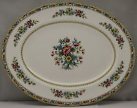 "Coalport Ming Rose 14"" Oval Serving Platter"