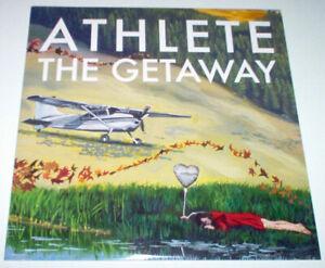 """Athlete - The Getaway RARE 2010 10"""" Vinyl EP NM/EX"""