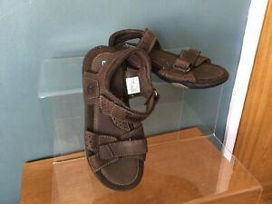 Mostrarte el primero buque de vapor  Las mejores ofertas en Parte superior de cuero Timberland Sandalia Zapatos para  Niños   eBay