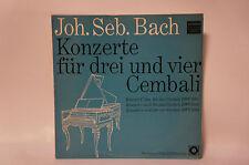 Johann Sebastian Bach-concerti per 3 e 4 cembali, album rarità, vinile (12)